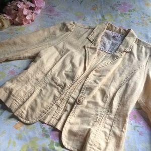 Linen/Cotton Summer Blazer ☀️